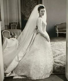 Wedding Dresses Worthy of Royalty, Hollywood Stars and Style Icons from Mill Crest Vintage