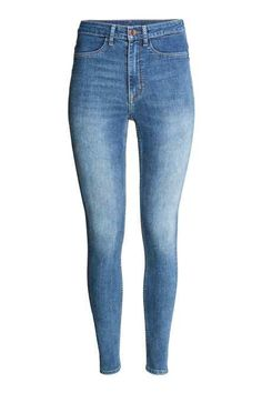 WAVEN WOMENS ANIKA SKINNY JEANS SOLID NAVY RRP £52