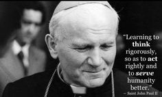 St. Pope John Paul II - Yes, that's what I'm trying to do.