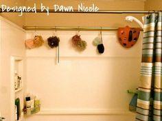 diy shower storage - Google Search