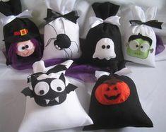 Saquinho de Guloseimas Halloween