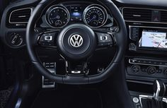 New Volkswagen Golf R image Gallery  The all-new Golf R returns, more powerful and sophisticated than ever. They were both powered by six-cylinder engines – a leftover from the front-drive VR6 – which were a big-capacity solution to the Mk3's weight problems.  Read more: http://shoutmycar.com/volkswagen-golf-r-image-gallery/#ixzz3VsgwBQdm