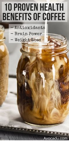 Coffee is rich in antioxidants and can also be an effective tool in weight loss when taken before a workout! This delicious drink will help you burn calories and lose weight quick! http://avocadu.com/10-proven-health-benefits-of-coffee/