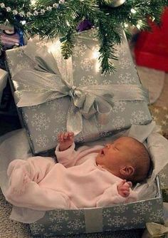 Xmas gift❤ she isn't this little anymore but the idea is cute