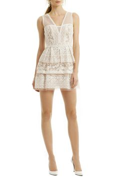 Rent Scarletta Lace Dress by BCBGMAXAZRIA for $45 only at Rent the Runway.