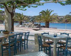 Syros Greece, Outdoor Furniture Sets, Outdoor Decor, Greek Islands, Patio, Beach, Places, Photos, Travel
