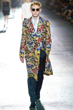 @Dries Van Noten Men's Spring 2014 Runway Fashion #fashion #paris #menswear