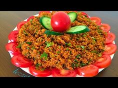 Roasted Eggplant Dip, Turkish Recipes, Ethnic Recipes, Everyday Prayers, Fried Rice, Low Carb, Yummy Food, Salad, Beef
