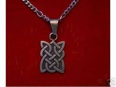 CeLtIc KnOt Wicca PeNdAnT Charm Silver Jewelry Sterling Silver 925 Jewelry
