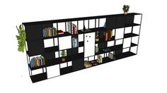Search for libreria 3d Warehouse, Diy Bedroom Decor, Home Decor, Magazine Rack, Bookcase, Architecture, Storage, Furniture, Sketchup Models