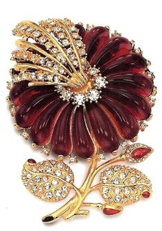 Famous Flower Brooch