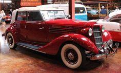 cars of 1935 | Remarkable cars picture encyclopedia - 1935 Auburn Convertible Sedan