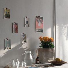 - ̗̀ saith my he A rt ̖́- Room Inspiration, Interior Inspiration, Design Inspiration, Bedroom Decor, Wall Decor, Dream Apartment, New Room, Dream Bedroom, House Rooms