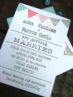 Printable wedding invitations mint green by sweetinvitationco