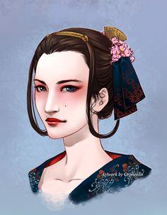Kohaku for Hisana by Orpheelin.deviantart.com on @deviantART