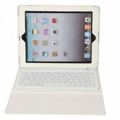 PU Leather Case Keyboard This is a perfect choice for you to protect your iPad. The most outstanding feature is you can use this keyboard which will make your use of the iPad more practical. And no more worries that your iPad will be damaged!