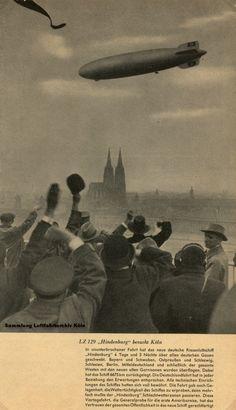 LZ129 Hindenburg Köln
