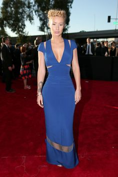 Iggy Azalea in Armani Prive  Grammys 2015: The Best Dressed Celebrities from the Red Carpet – Vogue