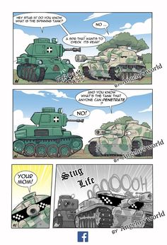 Visit the post for more. War Comics, Funny Comics, Army Jokes, Funny Images, Funny Pictures, Troll, History Jokes, Funny Tanks, Military Memes