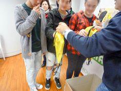 Consegna del kit scuola targato Malaspina