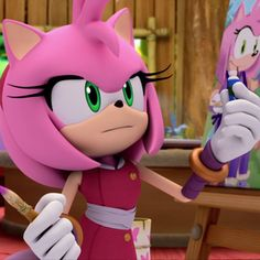 What would you do while you're waiting for Dr. Eggman to attack? Sonic Boom Amy, Game Sonic, Hedgehog Day, Sonic The Hedgehog, Top Villains, In The Midnight Hour, Cute Hug, Dog Day Afternoon, Eggman