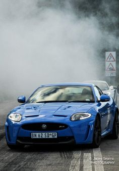 Jaguar XKRS (supercharged) driven by Deon Joubert - during the 2012 Knysna Renault Simola Hillclimb