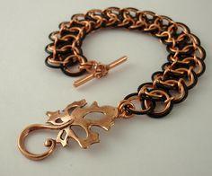Battenburg Lace Bracelet tutorial  by unkamengifts, via Flickr