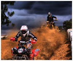 This picture I believe shows a great example of how intense and crazy a race can be, not to mention how much of an adrenaline rush it could be. Even though I have never raced in anything like a quad, I think it would be an experience of a lifetime.  Some people may not think it would be a part of the good life, I think it would fall into that category for sure.