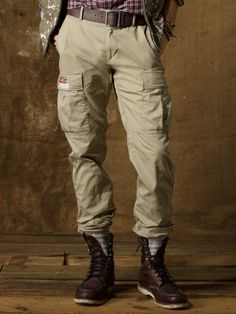 Slim-Fit Military Cargo Pant - Denim & Supply Cargo - RalphLauren.com... Good enough for Ralph Lauren, good enough for me. :D