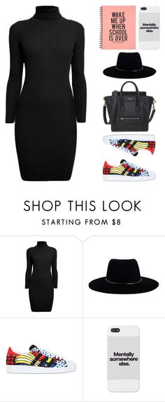 """Untitled #1342"" by i-am-leia ❤ liked on Polyvore featuring Rumour London, Zimmermann and adidas Originals"
