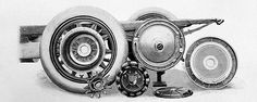 Wheel hub motor of the Mercedes Electrique models