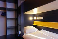 Beispiel: Einzelzimmer mit Gemeinschaftsbad im Bed'nBudget Cityhostel Hannover  Osterstraße 37  Tel.: 0511 / 3606 107  Fax: 0511 / 3606 277  E-Mail: Cityhostel@bednbudget.de  www.bednbudget.de