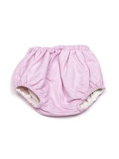 Culotte baby rosa double-face