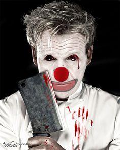 Photoshop Submission for 'Evil Celebrity Clowns Contest Joker Clown, Scary Clown Mask, Le Clown, Evil Clowns, Scary Clowns, Clown Makeup, Halloween Makeup, Clown Images, Clown Photos