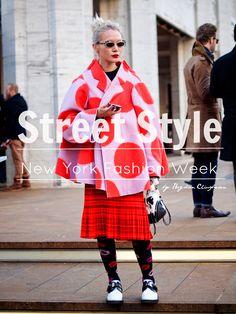 Bittersweet Colours: Street Style NYFW