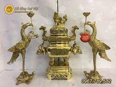 Lư đồng Dapha (Đại phát) - Đồ đồng thờ cúng, đồ đồng phong thủy, đồ đồng quà tặng - Đồ Đồng Đại Việt