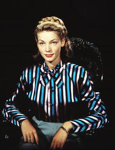 deforest:  Lauren Bacall, 1940s