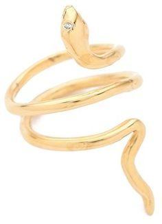 Jacquie aiche Mini Snake Ring Jacquie Aiche