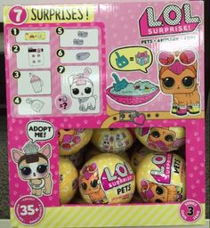 Edible Lol Surprise Dolls Cake Topper Birthday Party Wafer