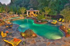 Zero Entry Pools Design, Pictures, Remodel, Decor and Ideas