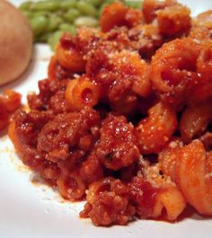 Macaroni Beef Saute - my mom's goulash recipe - so easy and so good!