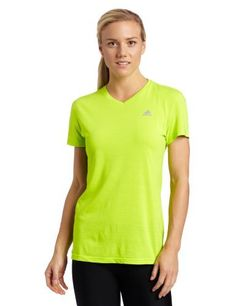 adidas Women's Ultimate Workout Short-Sleeve V-Neck Top: http://www.amazon.com/adidas-Womens-Ultimate-Workout-Short-Sleeve/dp/B005RD10PE/?tag=dirtyboy404-20