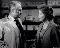 """Cyril Cusack and Susan Hayward in """"I Thank a Fool"""" Cyril Cusack, Herbert Lom, Susan Hayward, The Fool, Actors & Actresses, 1960s, Films, Movies, Sixties Fashion"""