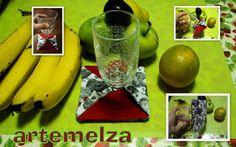 ARTEMELZA - Arte e Artesanato: Porta copos em dobradura
