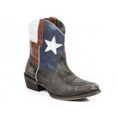 Roper Ladies Cowboy Boot Brown