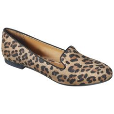 Target Women's Mossimo® Vianca Tuxedo Flat - Leopard Animal Print $20 (vs. Madewell's 188-dollar ones!)