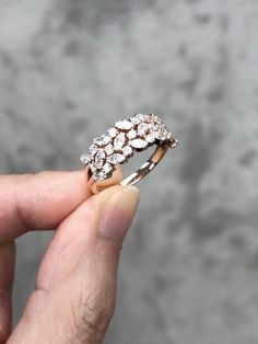 Rose Gold Engagement Rings for women carat t. diamond ring Gift Box Authenticity cards Riviera Shank (G, SI) (Ring Size – Fine Jewelry & Collectibles Gold Rings Jewelry, Jewelry Design Earrings, Gold Earrings Designs, Gold Jewellery Design, Ruby Jewelry, Fine Jewelry, Gold Ring Designs, Stylish Jewelry, New Blue
