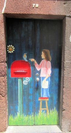 Painted Door, Funchal, Madeira Island - Photo by Photographer Sam Bal
