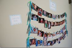 Just a few firsts--1st Birthday party ideas