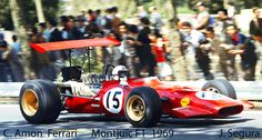 1969. Chris Amon_15. Ferrari 246T.